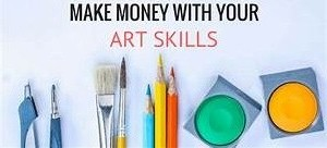 How to Make Money with Art without Struggling with it