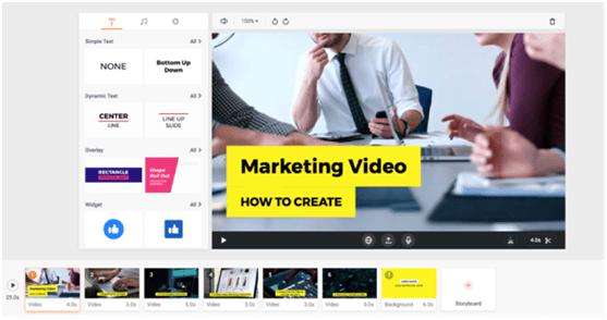 marketing flexclip video editor