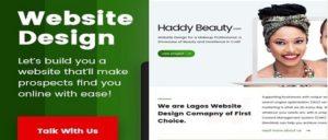 Affordable website design packages in Nigeria