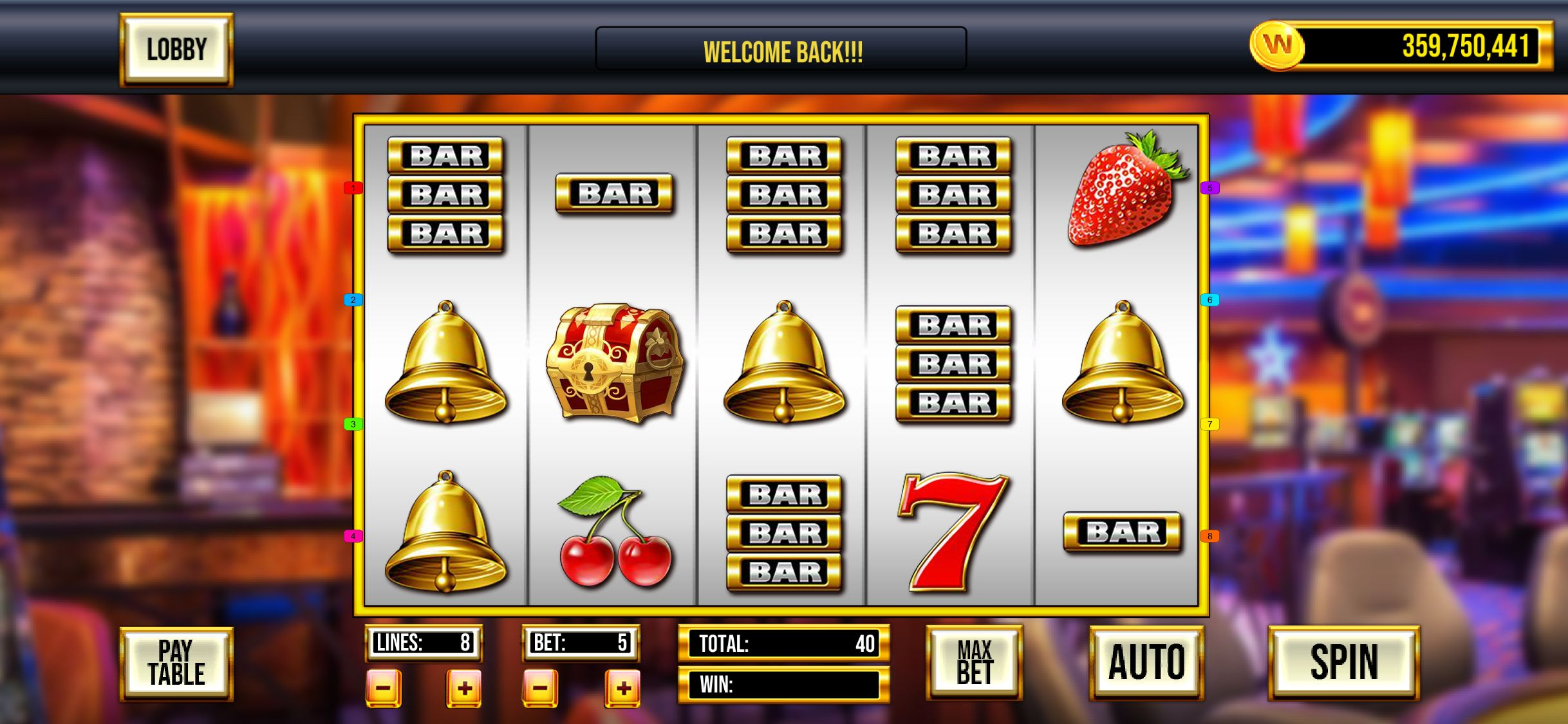 Game Slot Machine Website